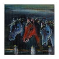 horses-amigos-bevkadowart