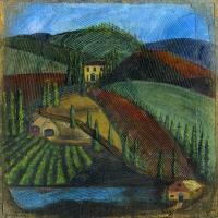 italianhillside-bevkadowart